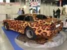 "Арт-тюнинг авто плёнкой с рисунком ""леопард"""