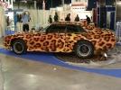 """Оклейка авто плёнкой с рисунком """"леопард"""""""