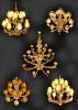Люстра на Саксаганского - 3D-визуализация  с разных ракурсов