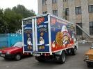 Поклейка грузовика
