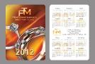 Карманный календарик