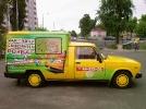 Рекламное оформление корпоративного автотранспорта