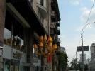 Уличная люстра диметром 3м