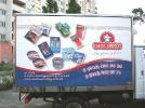 Рекламная оклейка фургона