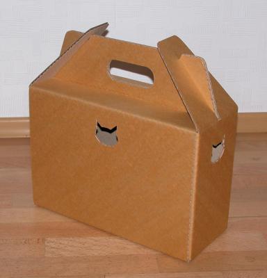 Коробка для котов