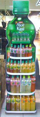 Cтойка торговая для бутылок
