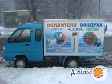 Оклейка фургона