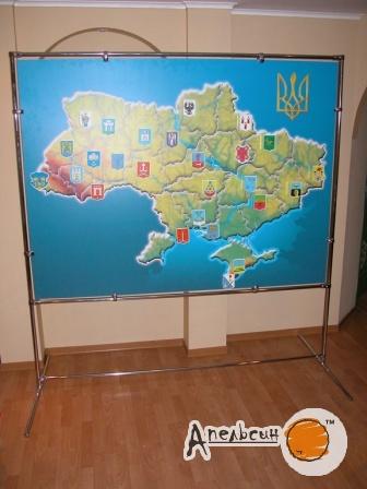 Стенд - карта Украины